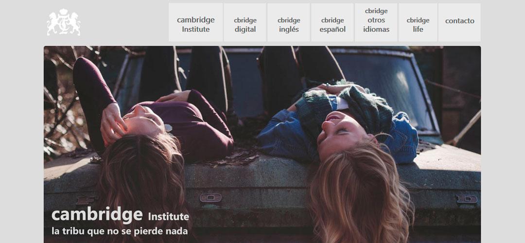 Cambridge Institute renueva su vestuario para el otoño: cambio de imagen y nueva web